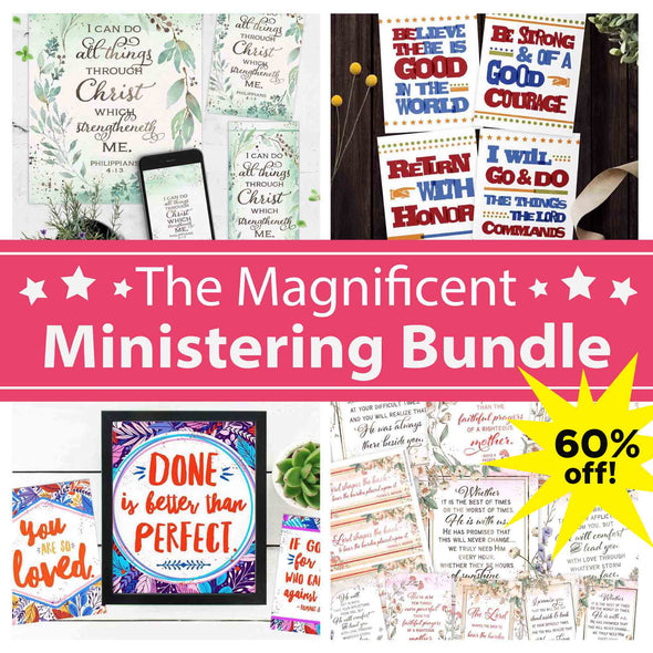 The Magnificent Ministering Bundle for Latter-day Saint Women