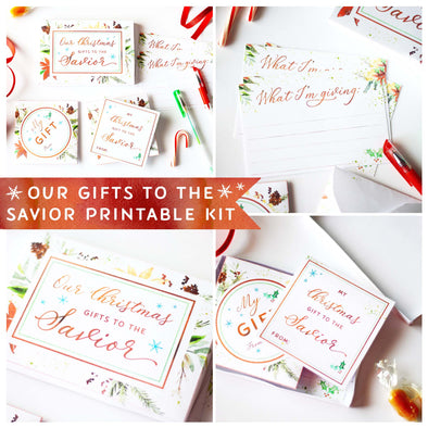 Our Gifts to the Savior Printable Box and Kit