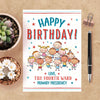 LDS Primary Custom Birthday Card | LDS Primary Card