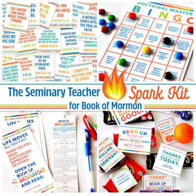 The Seminary Teacher SPARK kit for Book of Mormon