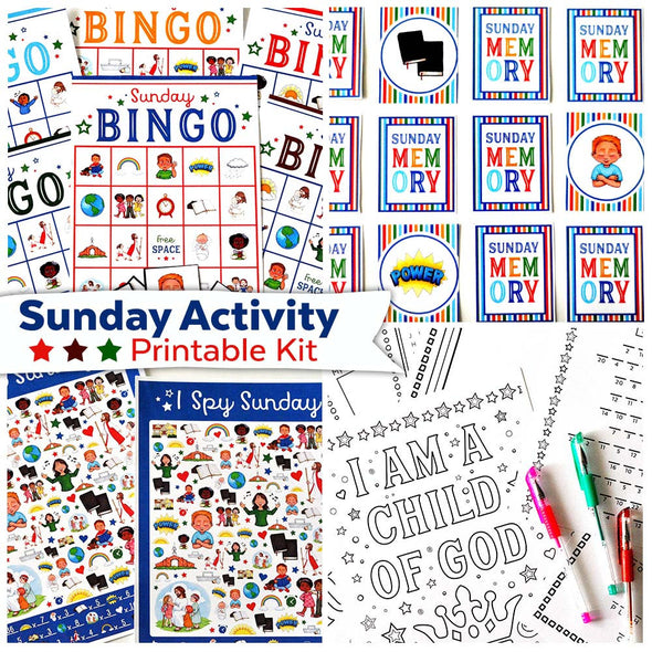 Sunday Activity Printable Kit