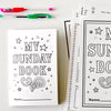 Sunday Activity Book {Printable Activity Booklet}