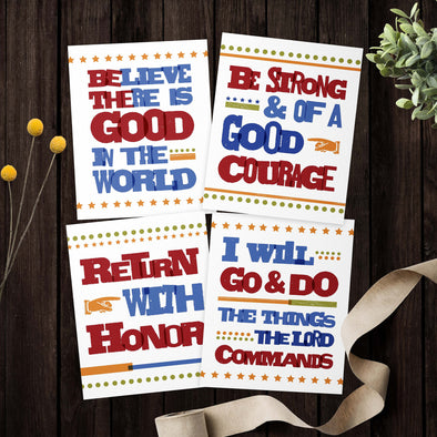 LDS Missionary Printable Bundle | Inspirational Poster Bundle