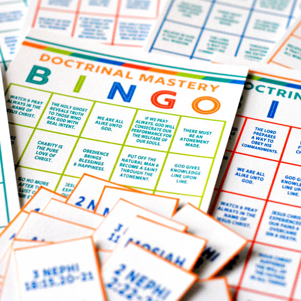 Seminary Doctrinal Mastery BINGO - Book of Mormon Doctrinal Mastery Game