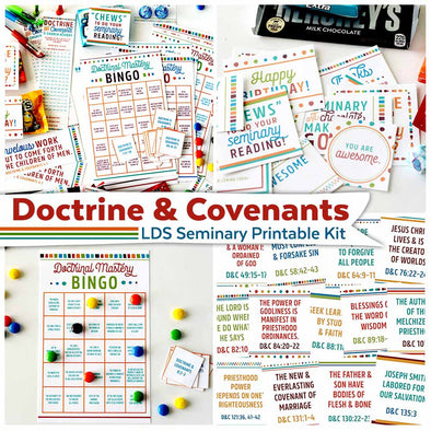 Doctrine & Covenants Seminary Printable Kit