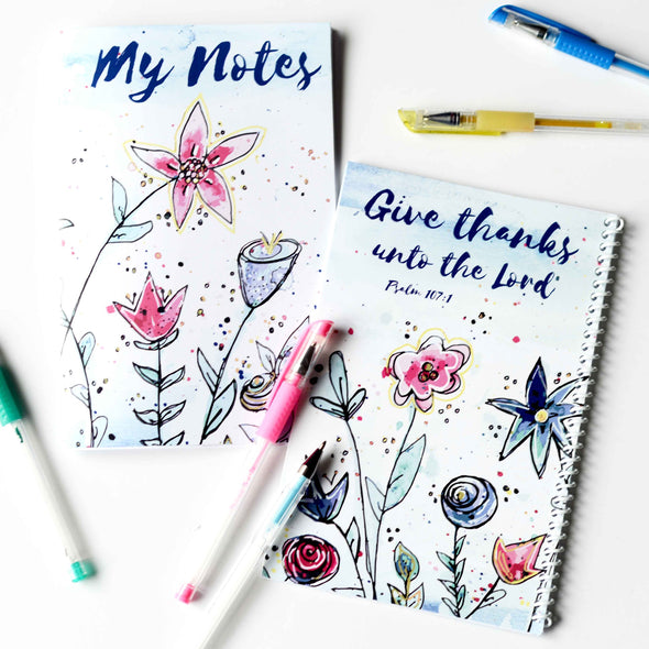 Personal Notes Gratitude Journal Printable Kit | Gratitude Journal