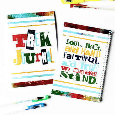 Trek Journal Printable Kit | LDS Trek Journal