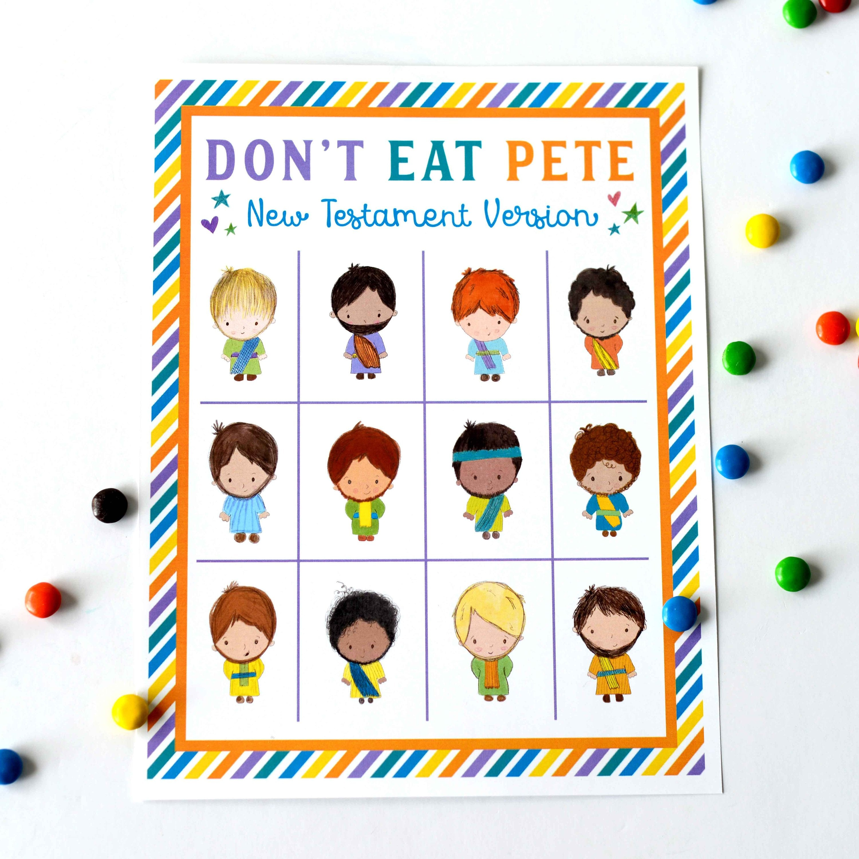 picture relating to Don't Eat Pete Printable named Dont Try to eat Pete Contemporary Testomony Model Teepee Woman Options
