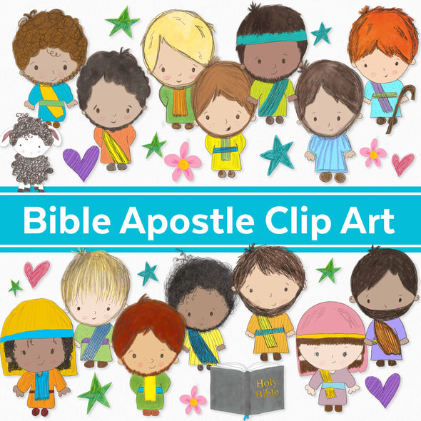 Bible Apostle/Disciple Clip Art | Christian Clip Art | Free Commercial Use Bible Graphics