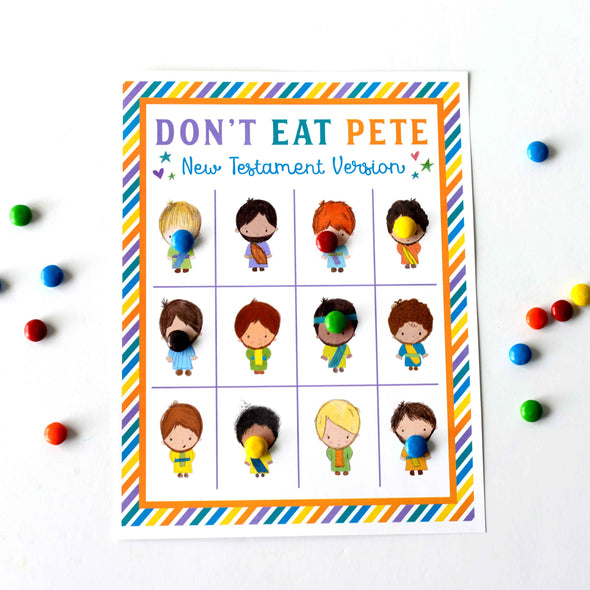 Don't Eat Pete New Testament Version | Bible Game for Kids