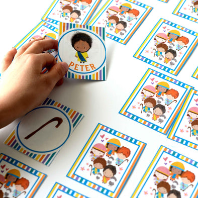 New Testament Memory Printable Game | Bible Game for Kids