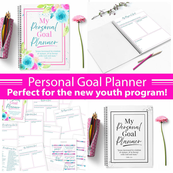 Personal Goals Journal for new Latter-day Saint Youth Program