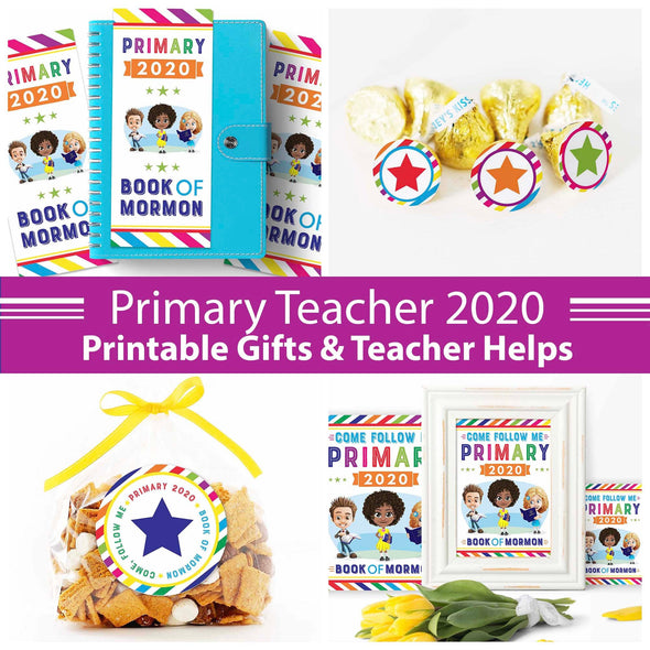 Primary 2020 Teacher Gift Set | Come Follow Me 2020 Primary Helps