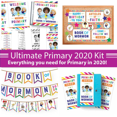Primary 2020 Come, Follow Me Printable Kit | Latter-day Saint Primary Helps 2020 Book of Mormon
