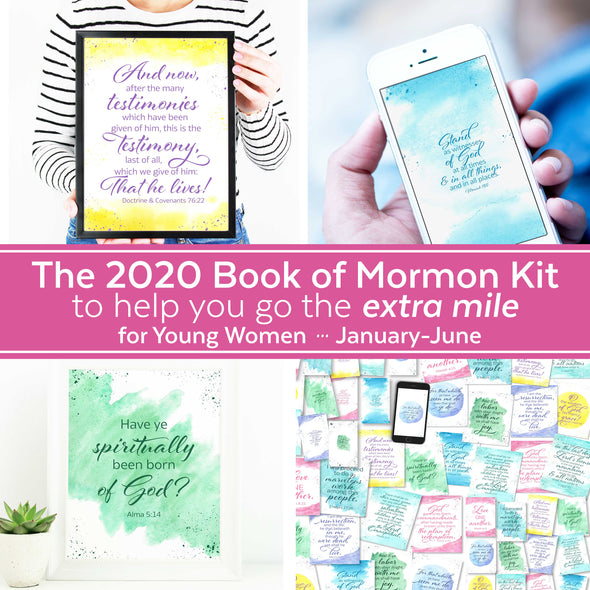 "The 2020 Book of Mormon Lesson ""Extra Mile"" Kit (January-June) 