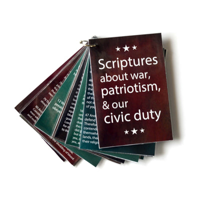 The Modern Stripling Warrior Printable Scripture Booklet | Scriptures for Latter-day Saint Military Men & Women