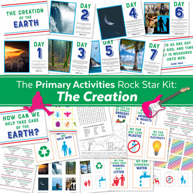 The Primary Activities Rock Star Kit: The Creation | LDS Primary Activities Complete Kit