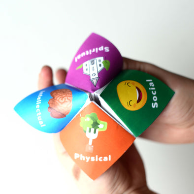 Latter-day Saint Goals Cootie Catchers/Fortune Tellers | LDS Cootie Catchers Primary Activities Games