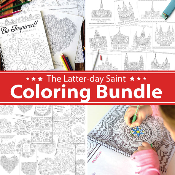 Latter-day Saint Coloring Bundle