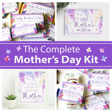 The Complete Mother's Day Printable Kit