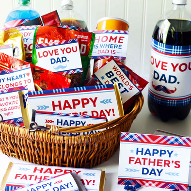 The Fabulous Father's Day Printable Kit for Dads!