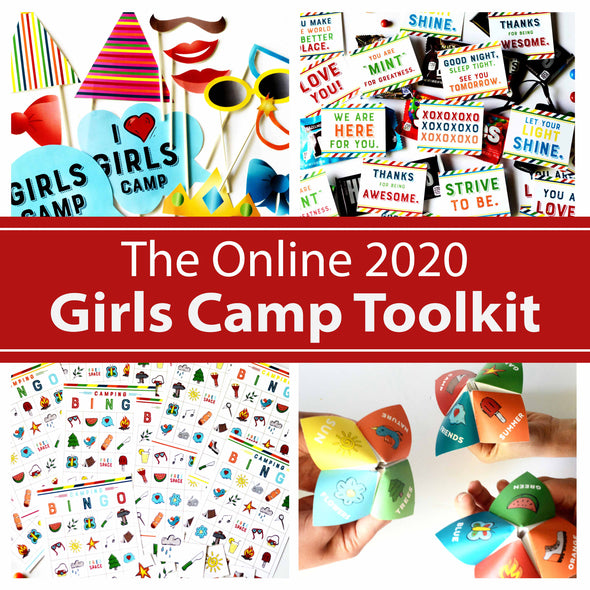 The Online 2020 Girls Camp Toolkit | Everything you need for online LDS Girls Camp!