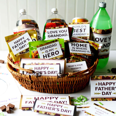 The Cool Camouflage Father's Day Printable Kit for Grandads & Grandpas