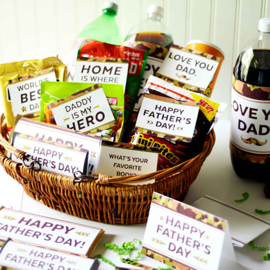 The Cool Camouflage Father's Day Printable Kit for Dads