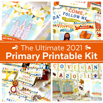 Primary 2021 Come, Follow Me Printable Kit | Latter-day Saint (LDS) Primary Helps 2021 for Doctrine & Covenants