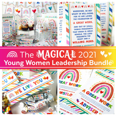 The MAGICAL 2021 Young Women Leadership Bundle |  2021 LDS Latter-day Saint Young Women Kit