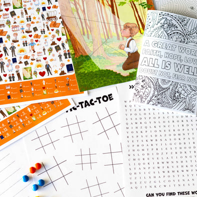Doctrine and Covenants Coloring & Activity Kit for Kids
