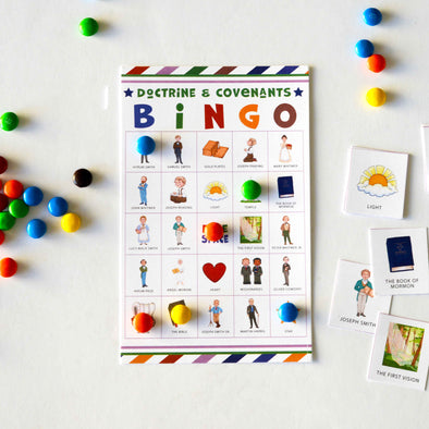Doctrine And Covenants BINGO Printable Game | LDS Game for Kids