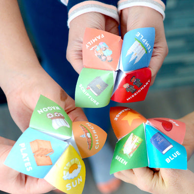 Doctrine And Covenants Cootie Catchers/Fortune Tellers | LDS Cootie Catchers Primary Activities Games