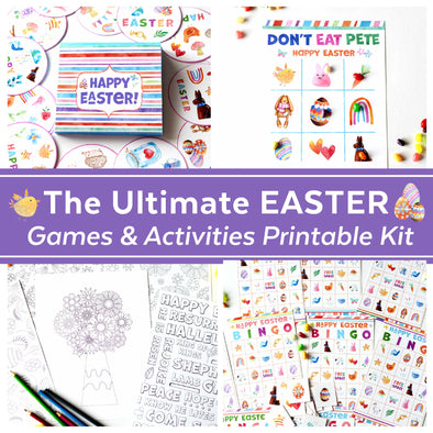 The Easter Games Printable Kit | Easter Activities for Kids & Families