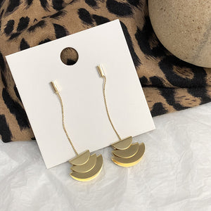 Fan Shape Earring