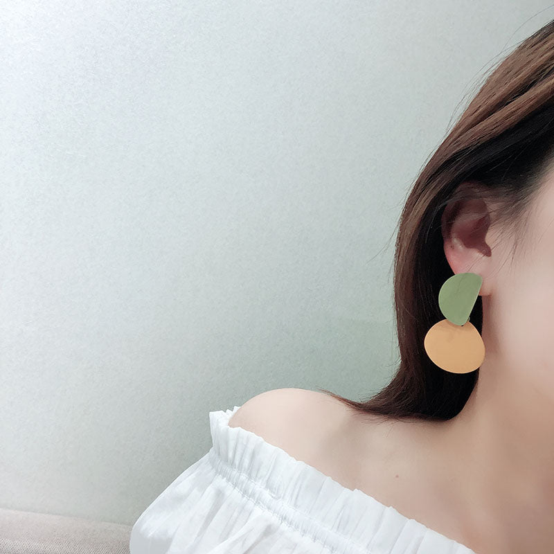 Colour Block Earrings