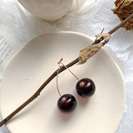Statement Cherry Earrings