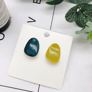 Colours Mix Match Curvy Earring