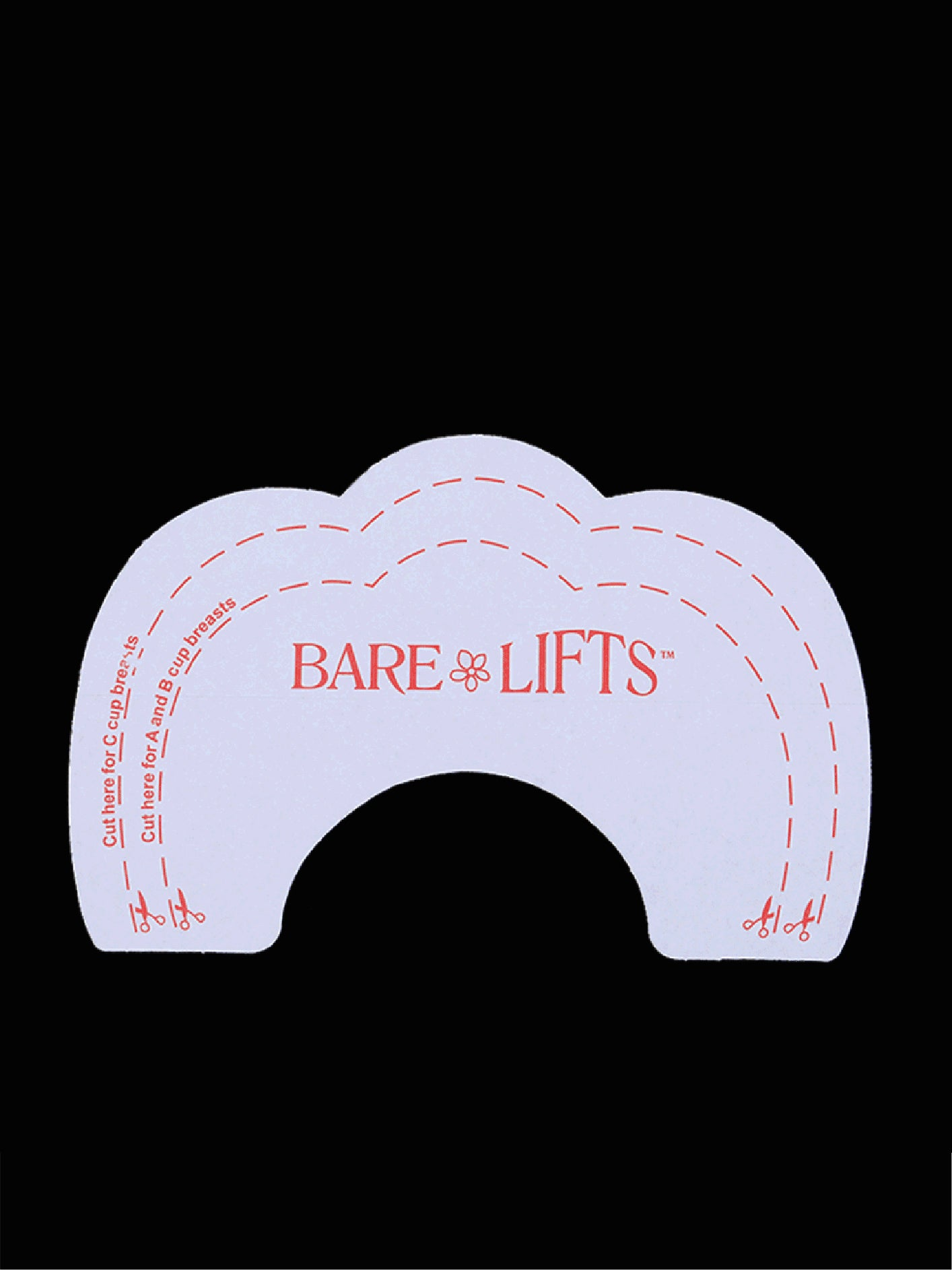 Bare Lifts Breast Lift Support Invisible Bra Shaper Adhesive Tape
