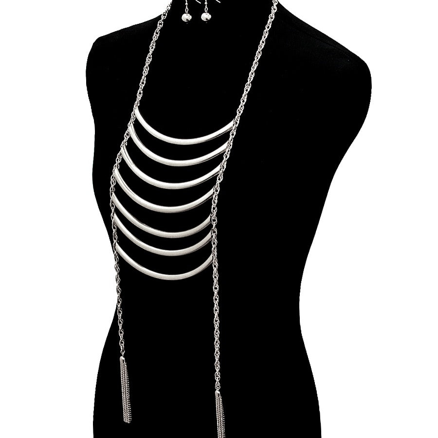 Kay's Layered Necklace Set - Trendy Vybe Accessories