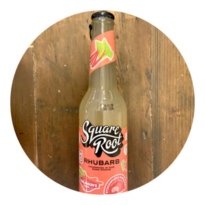 Square Root Soda - Rhubarb Soda 275ml