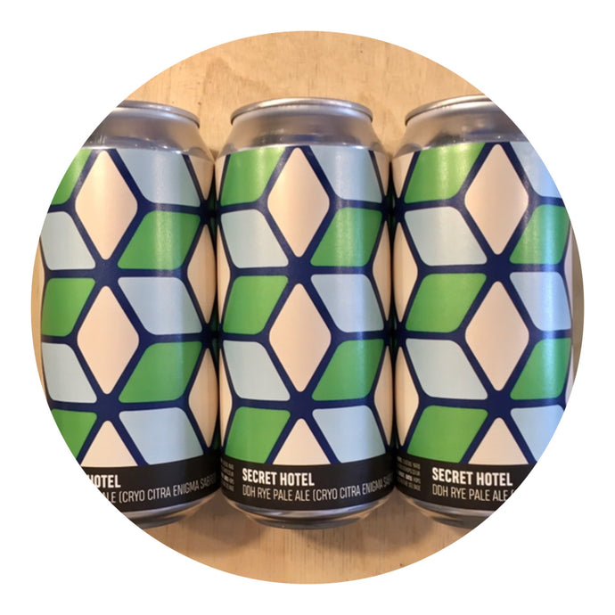 Howling Hops - Secret Hotel DDH Rye Pale Ale 5.5% 440ml Can - all good beer.