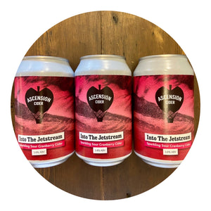 Ascension - Into The Jetstream Sour Cranberry Cider 3.8% 330ml can - all good beer.