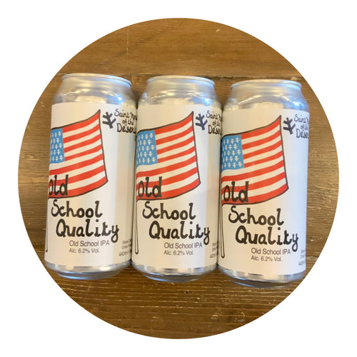 Saint Mars of the Desert - Old School Quality IPA 6.2% 440ml can