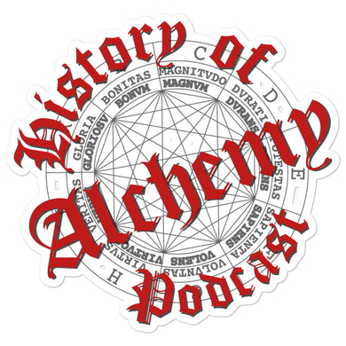 History of Alchemy Sticker