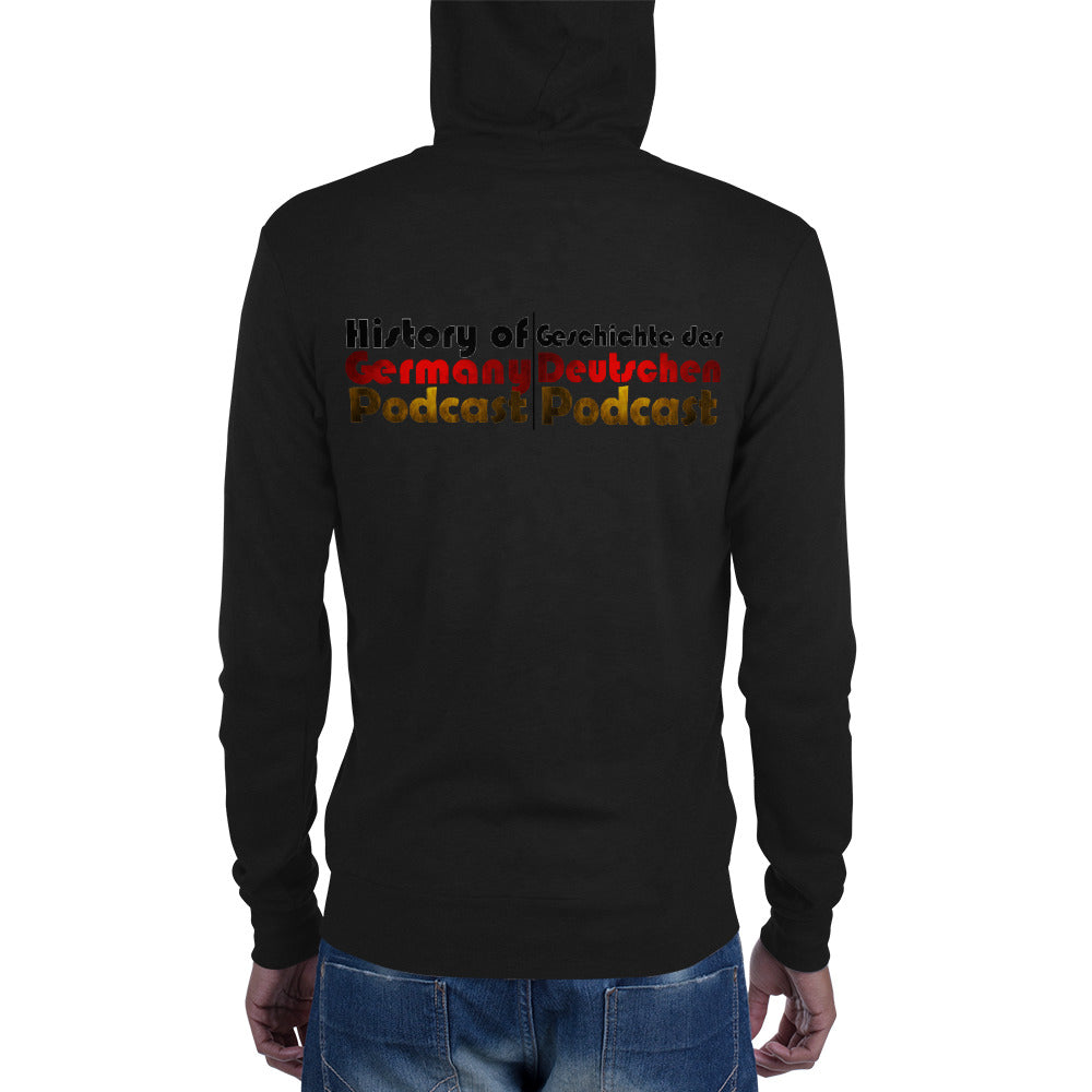 History of Germany Zip Hoodie