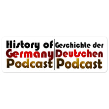 History of Germany Sticker