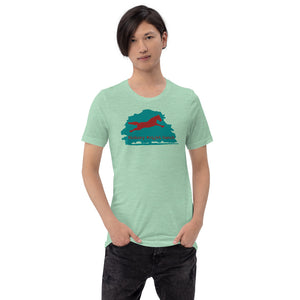 Hickory Wright Ranch blue-red T-Shirt