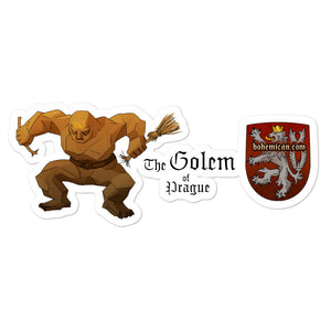 "Bohemican ""Golem of Prague"" Sticker"
