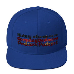 History of Germany Snapback Hat